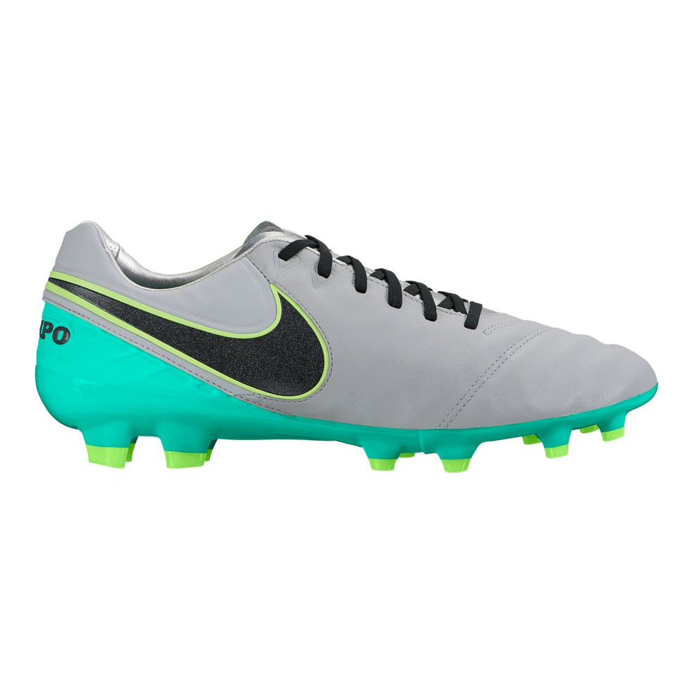 save off 42705 be1a7 Nike Tiempo Legacy II (FG) football shoes, grey