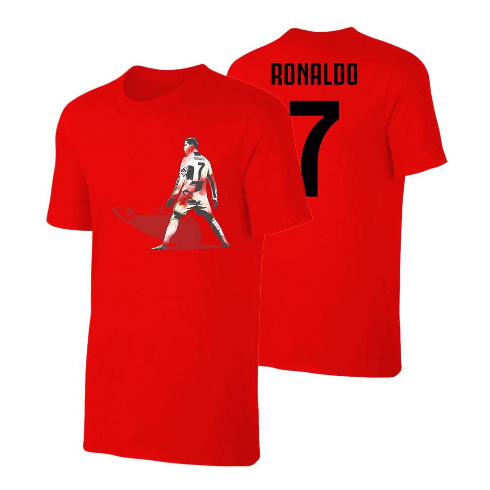sale retailer 3b0c8 46247 Juventus 'CL Shade' t-shirt RONALDO, redSA000819