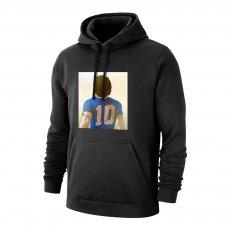 Maradona 'The Last Νο10' footer with hood, black