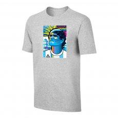 Maradona 'Abstract DIEGO' t-shirt, grey