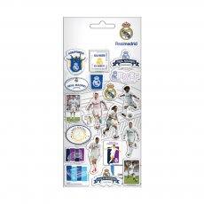 Real Madrid puffy stickers 10x22cm