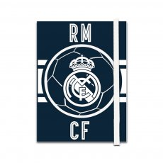 Real Madrid 96 sh notebooks with band 10x13cm