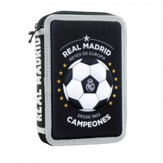 Real Madrid double pencil case 'CAMPEONES'