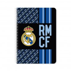 Real Madrid 60sh spiral notebook 21x29cm