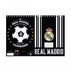 Real Madrid 40 sh painting blocks with stencil 'CAMPEONES' 23x33cm