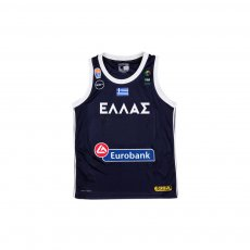 Greece NT basketball 2019 home shirt GSA, dark blue