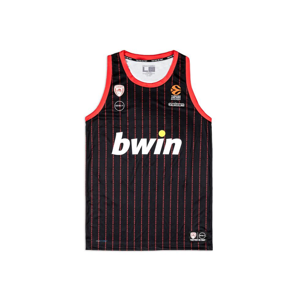 Olympiacos BC 2020/21 away shirt