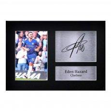 HAZARD A4 photo with autograph HWC