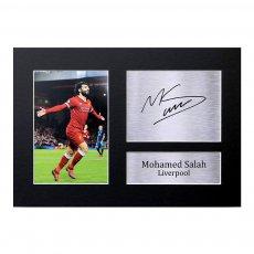 SALAH A4 photo with autograph HWC