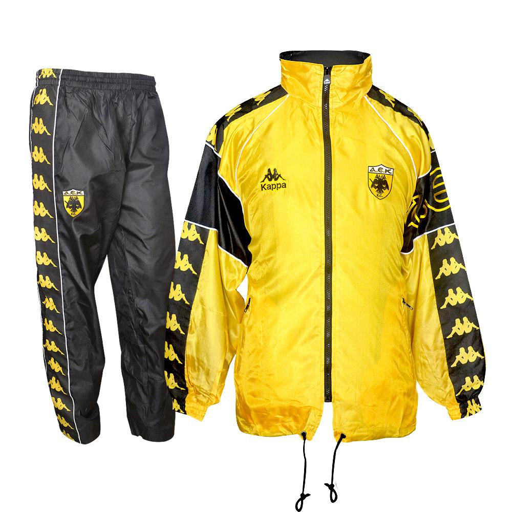 AEK 1996/97 presentation tracksuit, yellow