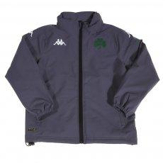 Panathinaikos 2020/21 junior travel rain jacket Arminzip 4, grey