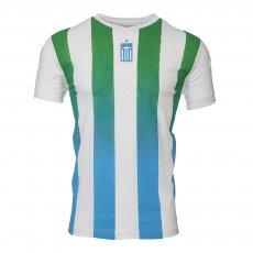 "Panathinaikos Stripe ""PAO Since 1908"" t-shirt KAPPA, white"