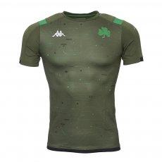 Panathinaikos 2019/20 Line-Up training shirt KAPPA, olive