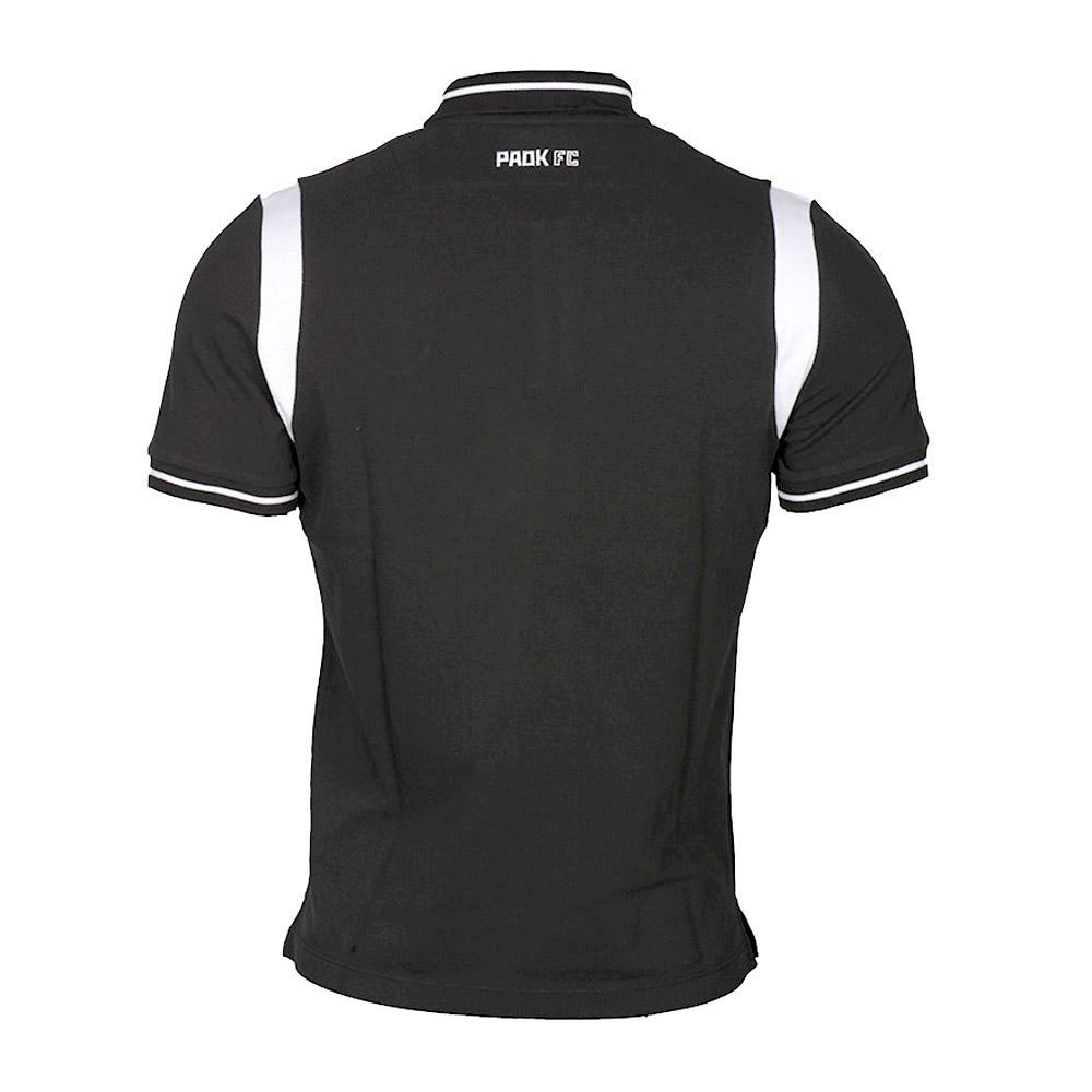 PAOK 2020/21 travel polo, black