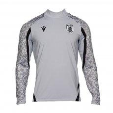 PAOK 2021/22 l/s training shirt zipper, grey