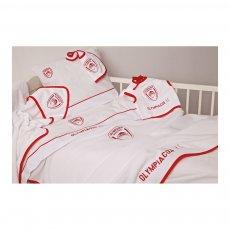 Olympiacos BC baby fleece blanket 120 x 150εκ. Palamaiki