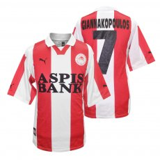 Olympiacos 1999/00 home shirt GIANNAKOPOULOS