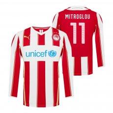 Olympiacos 2014/15 home lοng sleeve shirt MITROGLOU