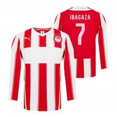 Olympiacos 2014/15 home lοng sleeve shirt IBAGAZA