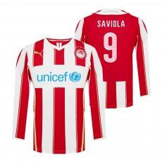 Olympiacos 2014/15 home lοng sleeve shirt SAVIOLA