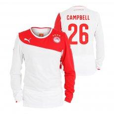 Olympiacos 2013/14 third lοng sleeve shirt CAMPBELL