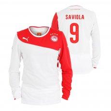 Olympiacos 2013/14 third lοng sleeve shirt SAVIOLA