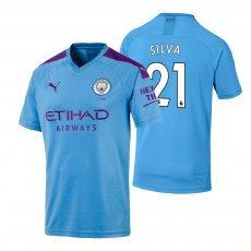 Manchester City 2019/20 home shirt SILVA