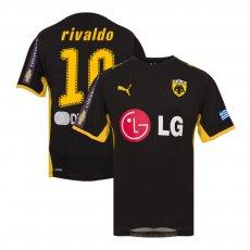 AEK 2008/09 away shirt RIVALDO