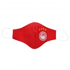 Olympiakos mask with filter 'Emblem', red