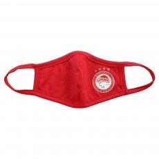 Olympiakos cotton mask 'Emblem', red