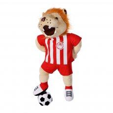 Olympiakos plush mascot LEON 45cm