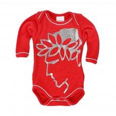 Olympiakos baby bodysuit Efivos Foil, red