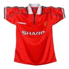 Manchester United 1998/00 boys home shirt BECKHAM