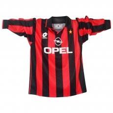 Milan 1996/97 boys home shirt