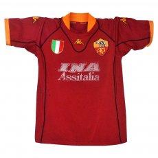 .Roma 2001/02 home shirt