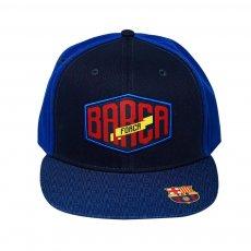 Barcelona 'Forca Barca' cap, dark blue