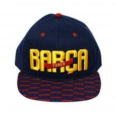Barcelona 'Pattern' cap, dark blue