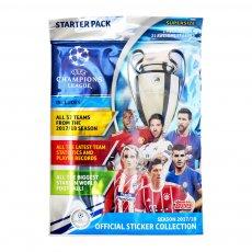 Topps Champions League 2017/18 album starter pack