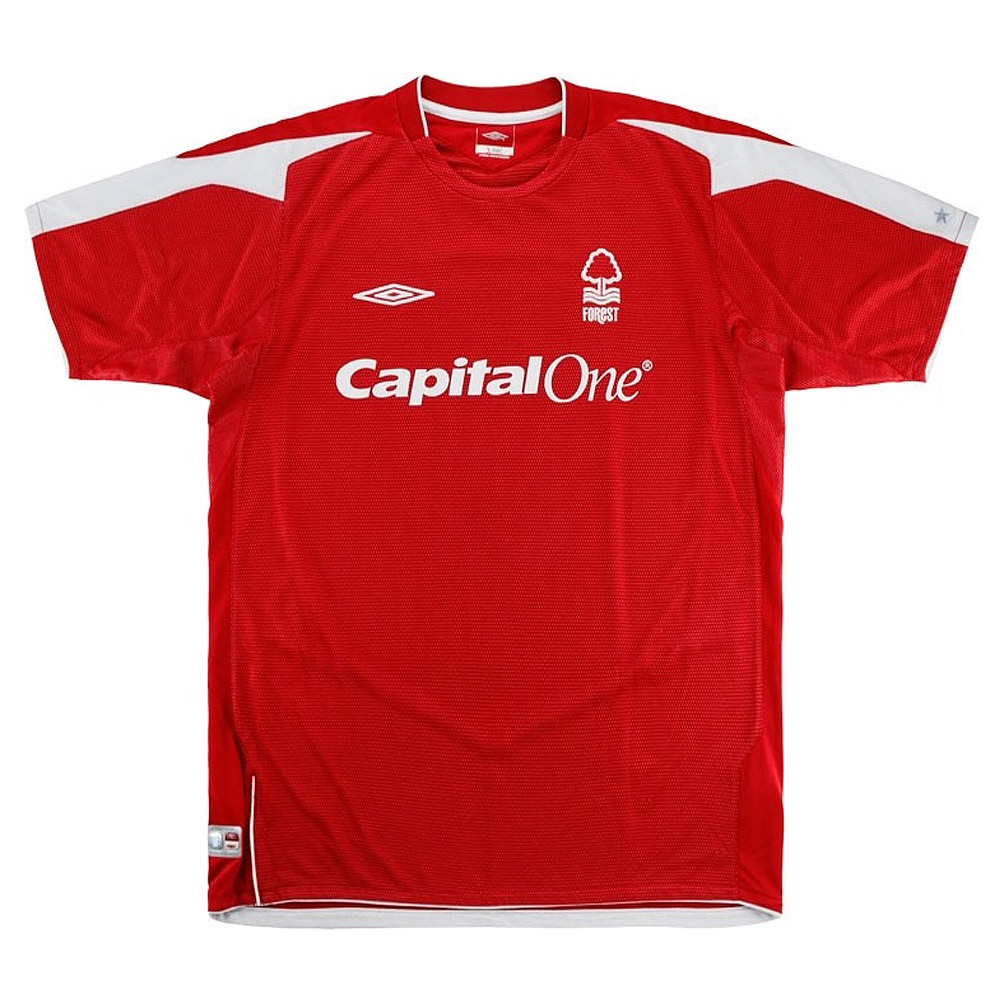 Nottingham Forest 2004/05 home shirt