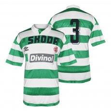 Skoda Xanthis 1994/95 match issue home shirt No3
