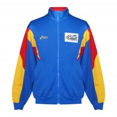 Spain volleyball presentation tracktop, blue