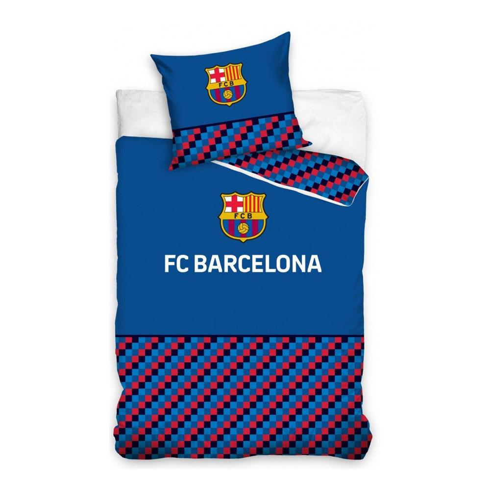 Barcelona FC Single Duvet - Pillow Set 140x200cm