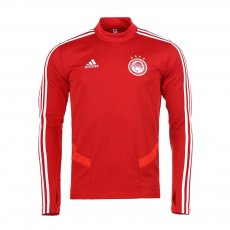 Olympiacos 2019/20 training longsleeve top Adidas, red
