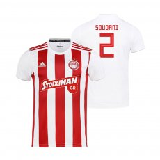 Olympiacos 2019/20 home shirt SOUDANI
