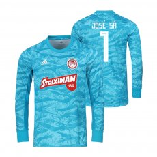 Olympiacos 2019/20 goalkeeper shirt JOSE SA, light blue