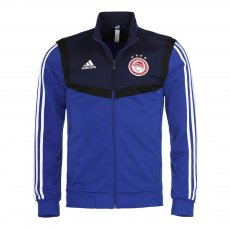 Olympiacos 2019/20 training track top Adidas, μπλε