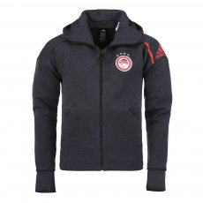Olympiacos 2019/20 presentation jacket Adidas, anthracite