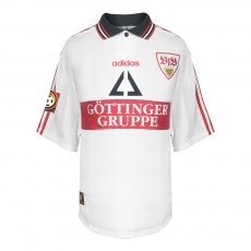 Stuttgart 1999/00 home match worn shirt BALAKOV