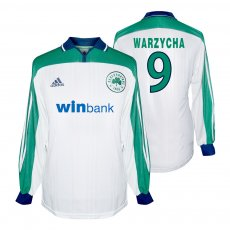 Panathinaikos 2000/01 away shirt WARZYCHA