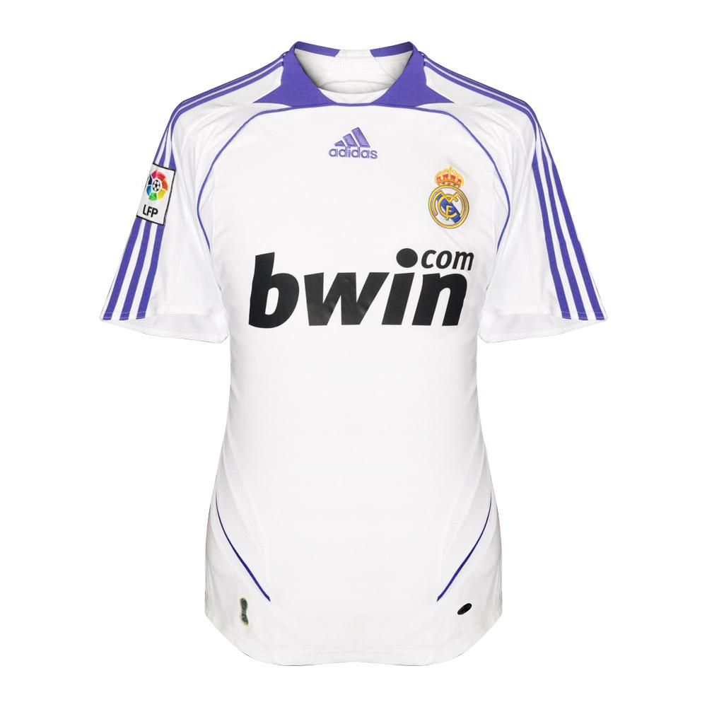 Real Madrid 2007/08 home shirt RAUL